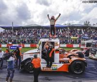 Régis comemora vitória na F-Truck