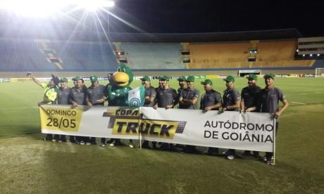 Pilotos Copa Truck no Serra Dourada