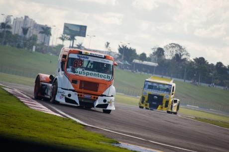Régis Boessio na Copa Truck